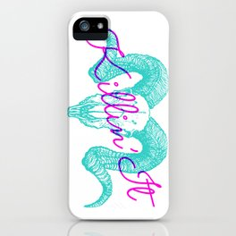 Killin' It iPhone Case