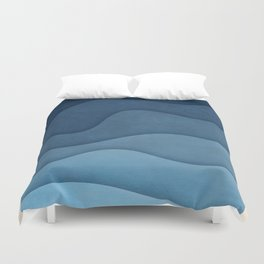 In Waves II Duvet Cover