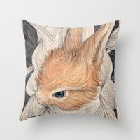 baby Throw Pillows featuring baby  by margaw
