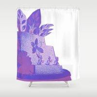 ducks Shower Curtains featuring Ducks by Brittany Bennett