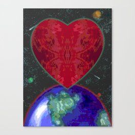 UNKNOWN PLANET Canvas Print