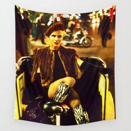 Transvestite, London Soho Wall Tapestry