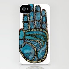 The Hand Of (Free)Time iPhone (4, 4s) Slim Case