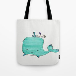 Whale you be my Valentine? Tote Bag