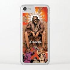 Big Lebowski Clear iPhone Case
