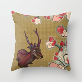 It's Better in the Shade Throw Pillow