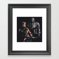 Targeted for Termination (The Terminator) Framed Art Print