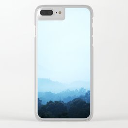 PHOTOGRAPHY / SKY & FOREST 01 Clear iPhone Case