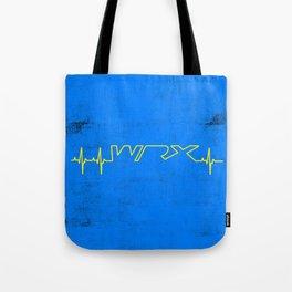 WRX Heartbeat Tote Bag