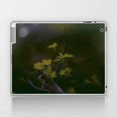 GREEN LEAVES IN THE EARTH  Laptop & iPad Skin