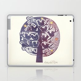 Untitled (tree), etching Laptop & iPad Skin