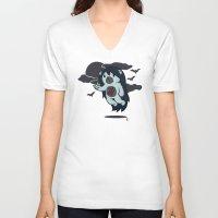 marceline V-neck T-shirts featuring Marceline Abeardeer by pepemaracas