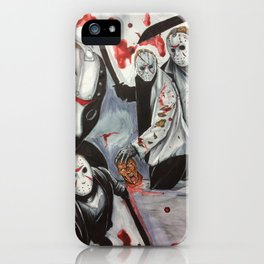 Born On A Friday iPhone Case