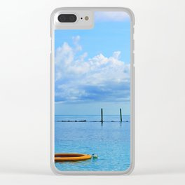 Bahamian Morning Clear iPhone Case