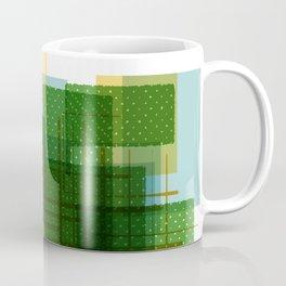 Abstract Geometric Dots Coffee Mug