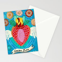 Corazon Puro Stationery Cards