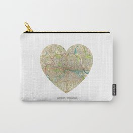 London heart map Carry-All Pouch