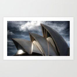 Sydney Australia Art Print