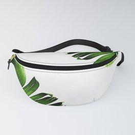 Green banana leaf Fanny Pack