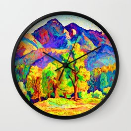 Ion Theodorescu Sion Piatra Craiului Wall Clock