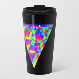 Fractal Triforce Travel Mug