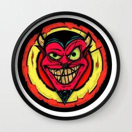 Drawlloween 2015 - Day 2 - Devil Wall Clock