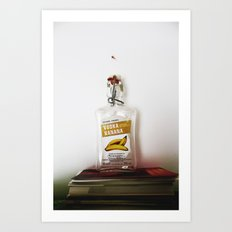 l'alcol uccide Art Print