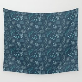 The Blue Deep Wall Tapestry