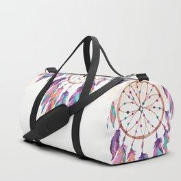 Colorful dreamcatchers Duffle Bag