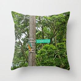Schneider Street Throw Pillow
