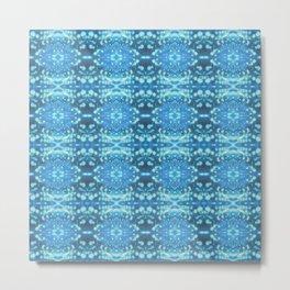 Banana Skin Blue - Infinity Series 011 Metal Print