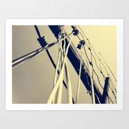 Towers 2 Art Print