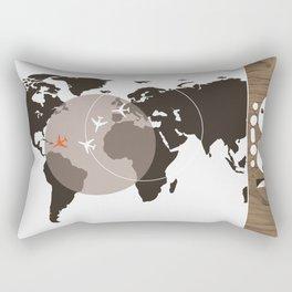 Thunderball Rectangular Pillow