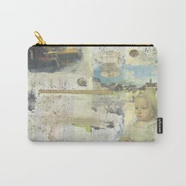 Woman's Work Collage Carry-All Pouch