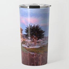 Cayucos Beachfront Travel Mug
