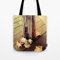 Belizean Shells Tote Bag