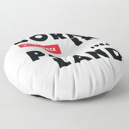 Born in Poland 1984 Floor Pillow