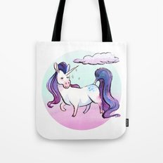 Chubby Unicorn: Violet Tote Bag