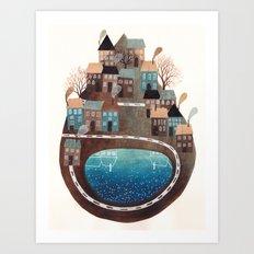 PLANET III Art Print