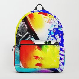 pineapple water mix Backpack