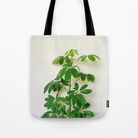 plant Tote Bags featuring Plant by sakinarawr