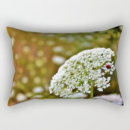 Lady on Lace Rectangular Pillow