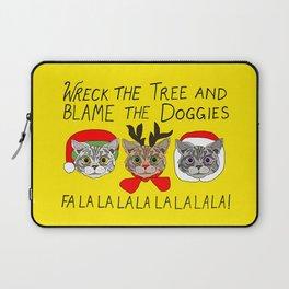 Holiday Cat Brats Laptop Sleeve