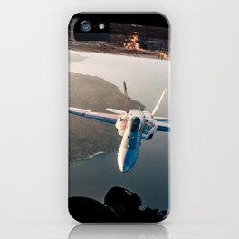 Hornet sunset iPhone Case