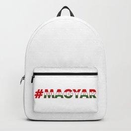 # Hashtag Magyar Backpack