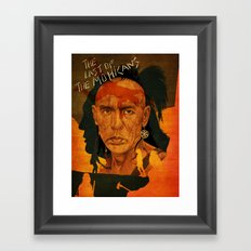 The last of the mohicans Framed Art Print