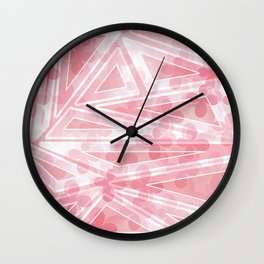 Flower Motifs 5 Wall Clock