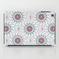wallpaper iPad Cases featuring Wallpaper  by Truly Juel