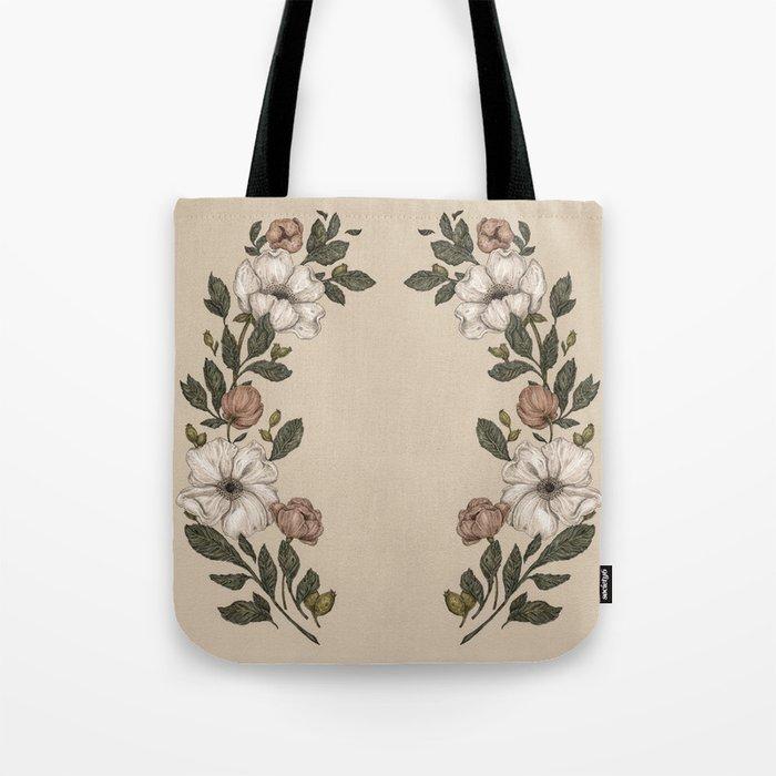 Floral Laurel Tote Bag