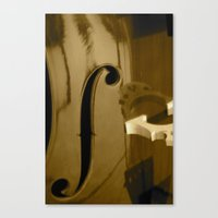 cello Canvas Prints featuring Cello by CC McAlister